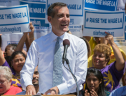 Mayor Garcetti Raise the wage LA