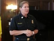 LAFD Battalion Chief Kristen Crowley