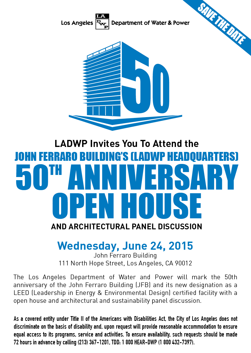 LADWP 50th Anniversary Open House – Empower LA