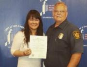 Grayce LAFD CERT Certificate