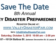 Valley Disaster Preparedness Fair Header