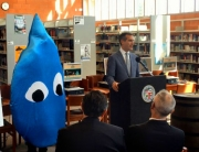 "At ""Imagine a Day Without Water"" event, Mayor announces ""Capture the Drop"" initiative to prepare Angelenos for new opportunities to fight drought by collecting and conserving our most precious natural resource."