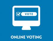 Online Voting Blog Banner