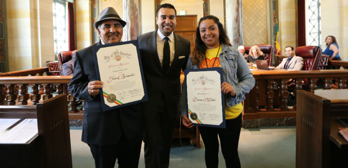 Public Works Recognizes Neighborhood Councils for their Clean Streets Work