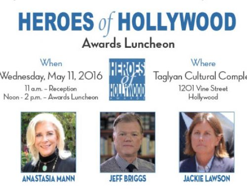 "Hollywood Hills West NC President Anastasia Mann Named One of the ""Heroes of Hollywood"""