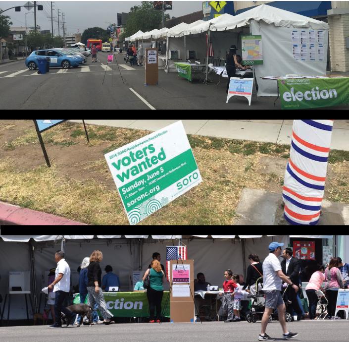South Robertson NC election at the SORO Festival (photos: Jose Galdamez)