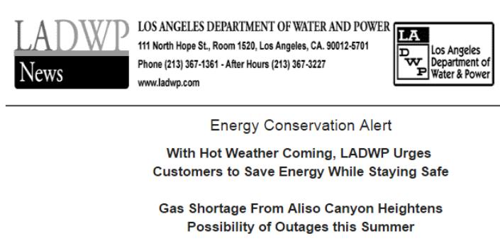 Los Angeles Department of Water and Power (LADWP) | Van Nuys