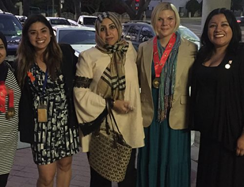 All Women Saudi Delegation Visits LA 32 Neighborhood Council