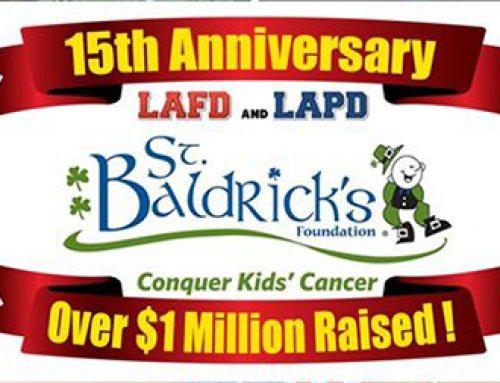 2017 LAFD/LAPD St. Baldrick's Fundraiser