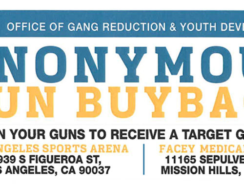 Mayor's Gun Buyback 2017