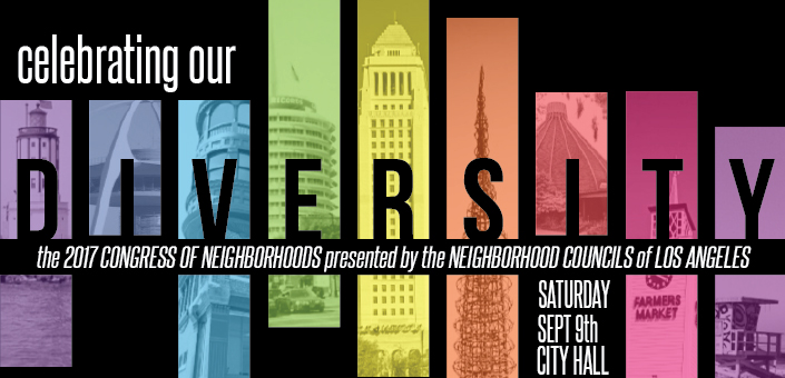 Congress of Neighborhoods happens Saturday September 9th at LA City Hall
