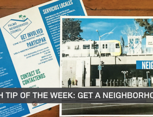 Outreach Tip of the Week #5: Last Call For Neighborhood Guides