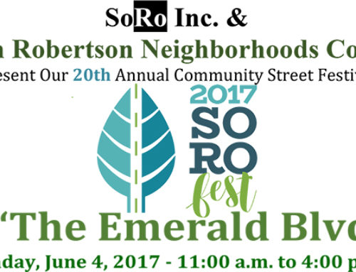 South Robertson Celebrates Its Emerald Blvd.