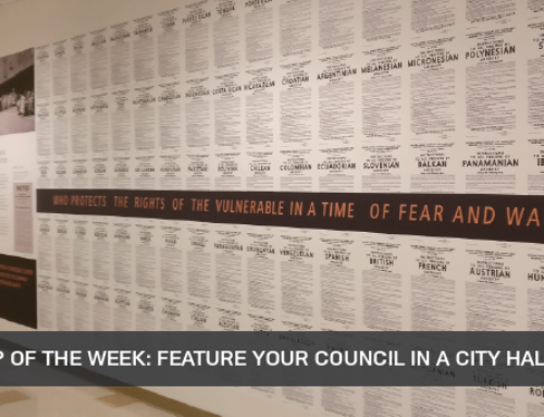 Outreach Tip of the Week: Feature Your Council In A City Hall Art Exhibit This September