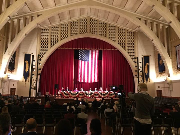 Los Angeles Mayoral Candidate Forum at Hollywood American Legion Hall