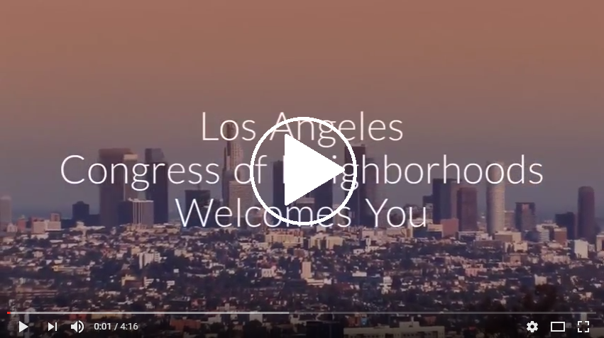 NC Congress 2017 video by Freddy Cupen-Ames, North Hollywood West Neighborhood Council