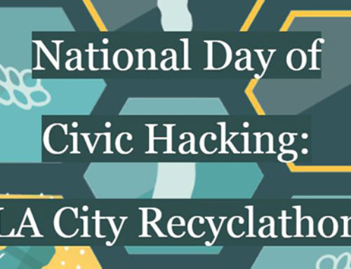 National Day of Civic Hacking: LA City Recyclathon