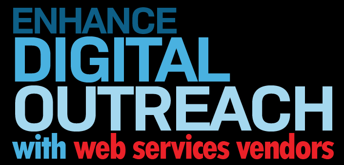 Learn how approved web services providers can enhance your board's digital outreach strategy