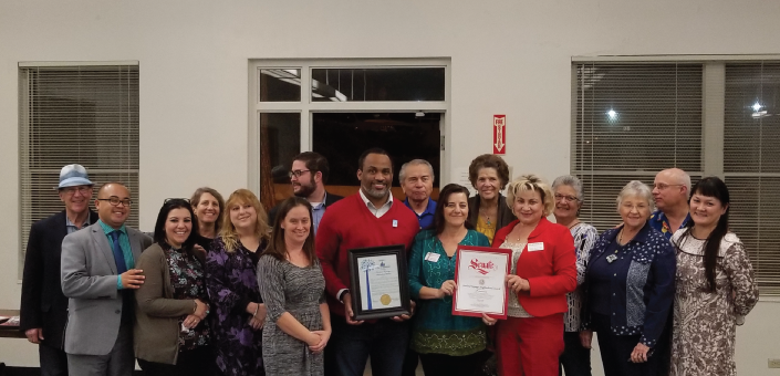 Sunland-Tujunga Neighborhood Council celebrates their 15th anniversary with the Board of Neighborhood Commissioners