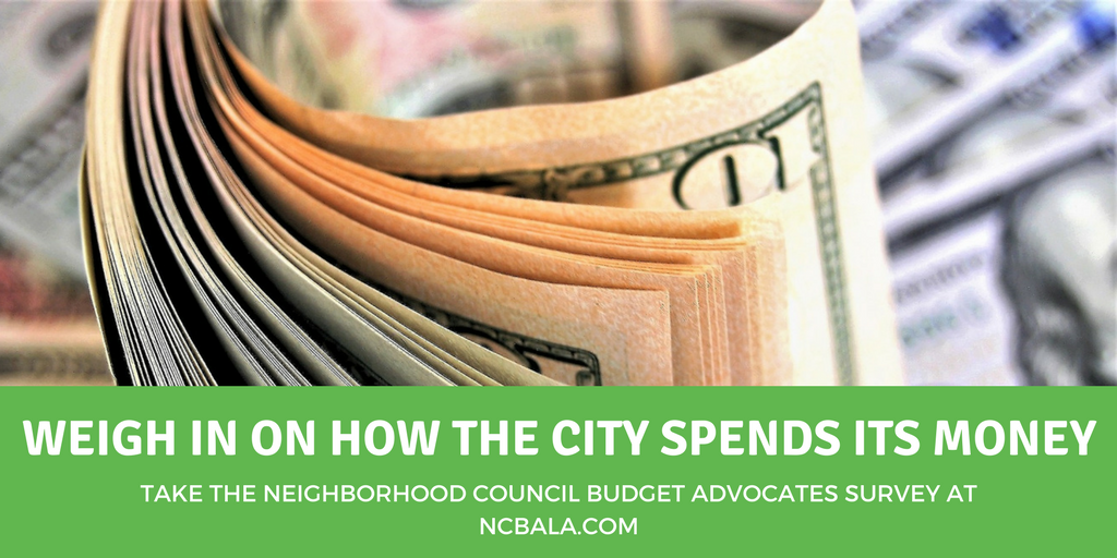 Take the Budget Advocates Survey to help shape the Los Angeles City Budget