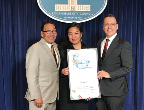 Canoga Park NC's Corinne Ho Honored By City Council