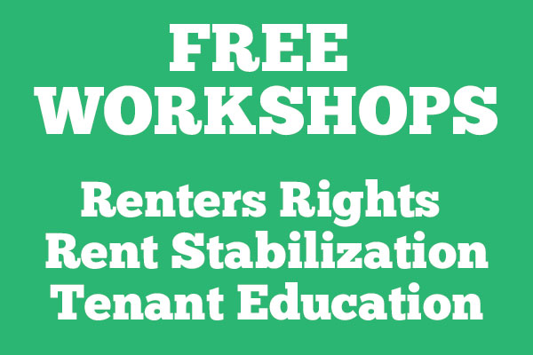 HCIDLA Tenants Rights Renters Rights Workshops April 2018 (newsletter graphic)