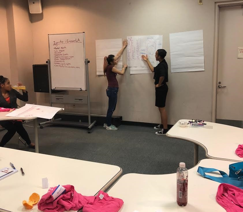 IgniteLA is a leadership program for young women