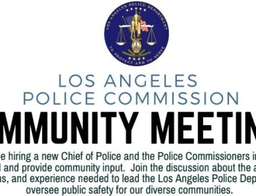 Who Should Be LAPD's Next Chief? Police Commission Wants Your Input