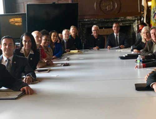 Budget Advocates Meet With Mayor Garcetti