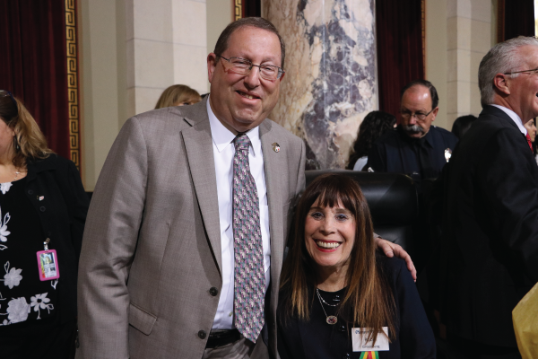 CD5 Councilmember Koretz + Bel Air Beverly Crest President Robin Greenberg Pioneer Woman of the Year 2018 (newsletter image)
