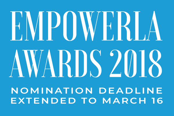 EmpowerLA Award nomination deadline extended to March 16