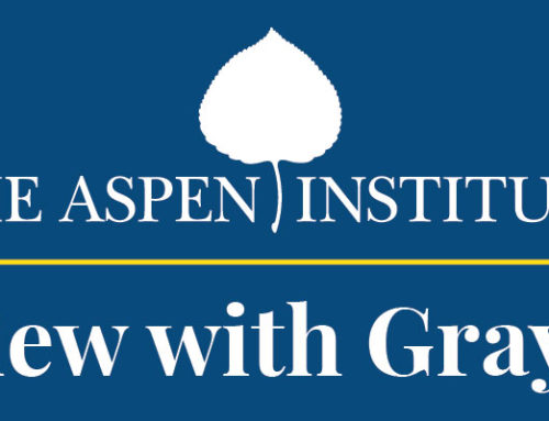Aspen Institute Interviews Grayce Liu on Civic Engagement
