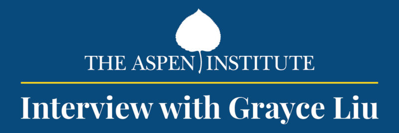 Aspen Institute interview with Grayce Liu of EmpowerLA (Center for Urban Innovation) - blog graphic