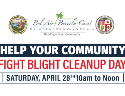 Bel Air-Beverly Crest Fight Blight Cleanup Day Sat 4/28