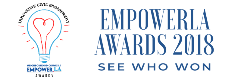 EmpowerLA Awards 2018 - see who won (newsletter header image)