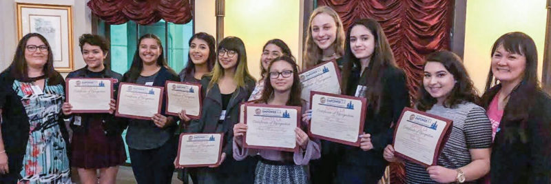 IgniteLA graduation photo (blog & newsletter header image)