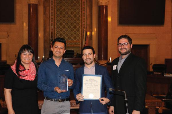 West LA EmpowerLA Award winner 2018 Palms NC