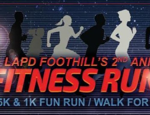 LAPD Foothill Fitness Run Saturday May 19th