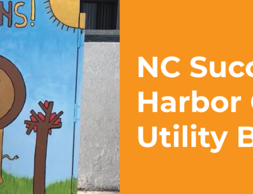 NC Success Story – Harbor City NC Utility Box Murals