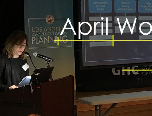 City Planning 101: April Workshops Recap + Video Tutorials Link
