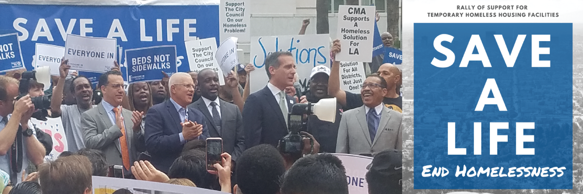 City Hall Rally to end Homelessness – Empower LA