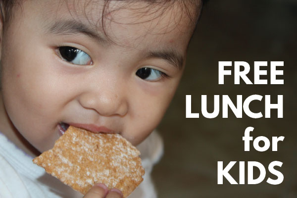 free summer lunches for kids at 100 different LA Parks locations
