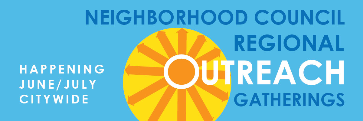 Regional Outreach workshops are happening across LA in June and July (newsletter graphic)