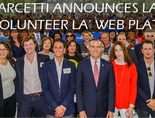 MAYOR GARCETTI ANNOUNCES LAUNCH OF 'VOLUNTEER LA' WEB PLATFORM