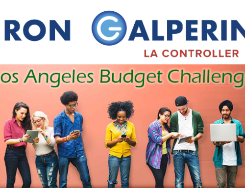 LA Controller Ron Galperin Presents: Los Angeles Budget Challenge