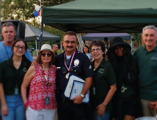 NC Valley Village Honors LAPD Heroes at National Night Out