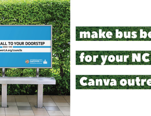 Canva Outreach Templates for Neighborhood Councils