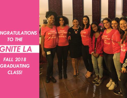 Fall 2018 Class of IgniteLA Graduates!