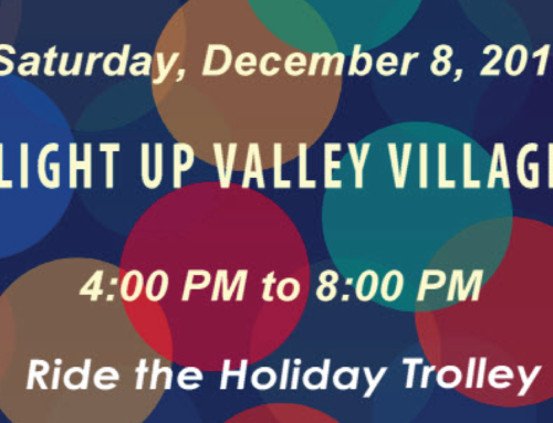 Light Up Valley Village Saturday December 8th