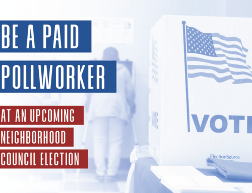 Paid Pollworkers Needed for Neighborhood Council Elections – Apply Now
